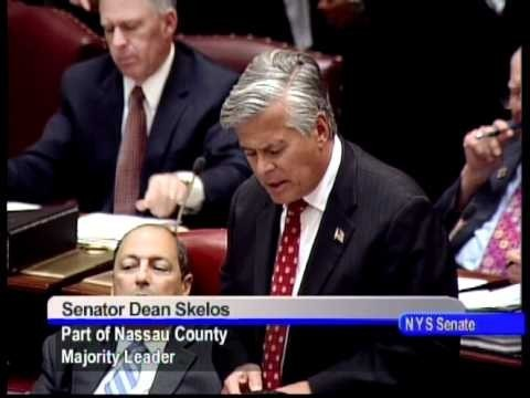 "State Sen. Dean Skelos said the bill would help Long Beach cover ""extraordinary expenses"" associated with Sandy."