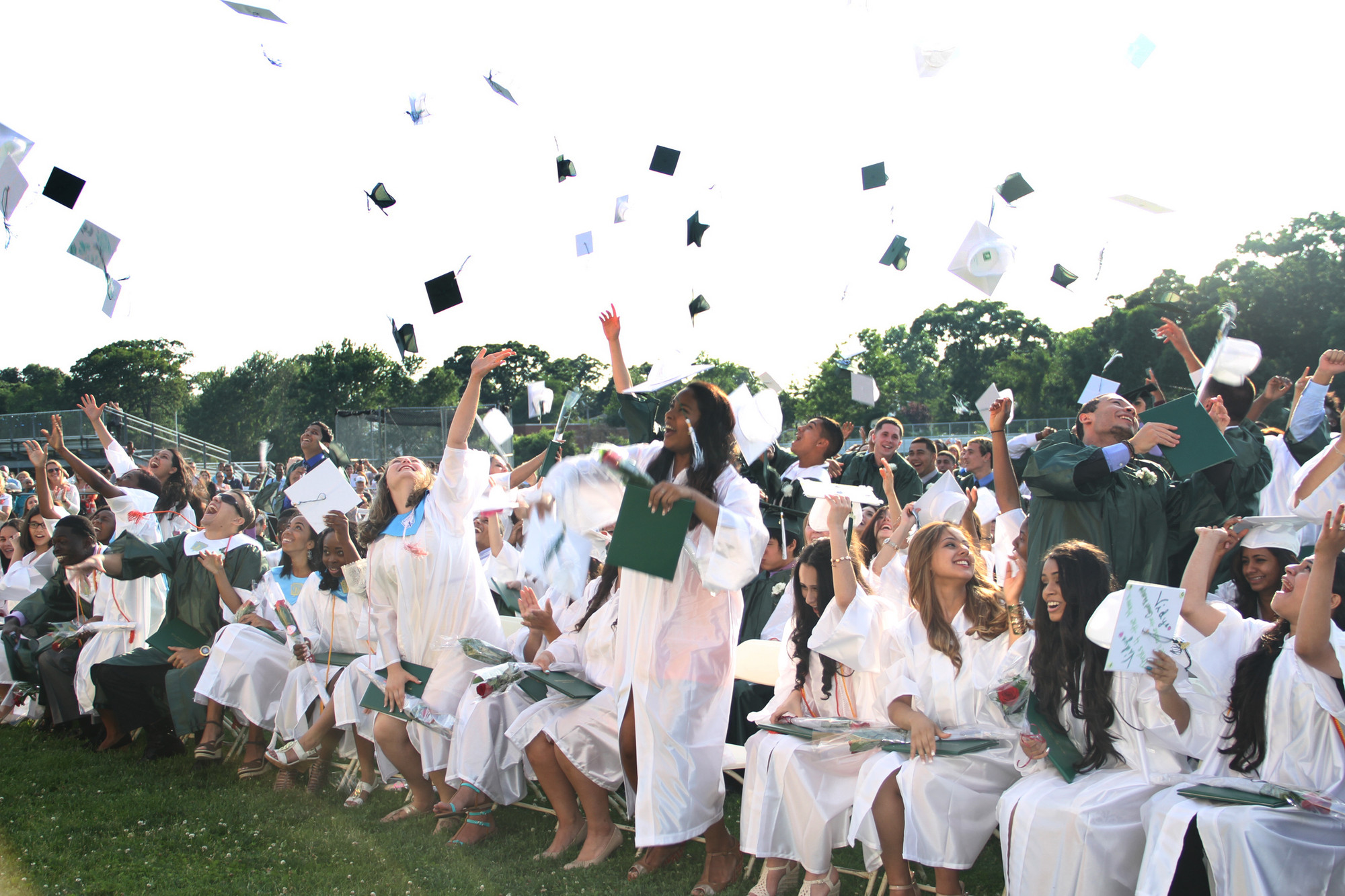After Six years at Valley Stream North High, graduates celebrated their successful completion of school on June 21.