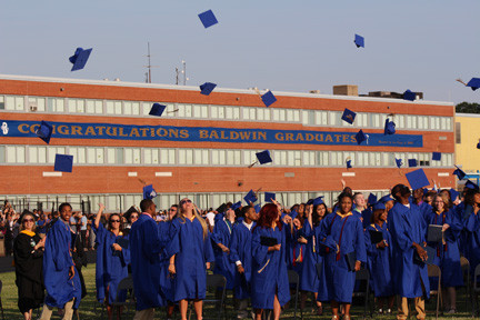 On June 21, Baldwin High School sent off the class of 2013 at the school's graduation ceremony.
