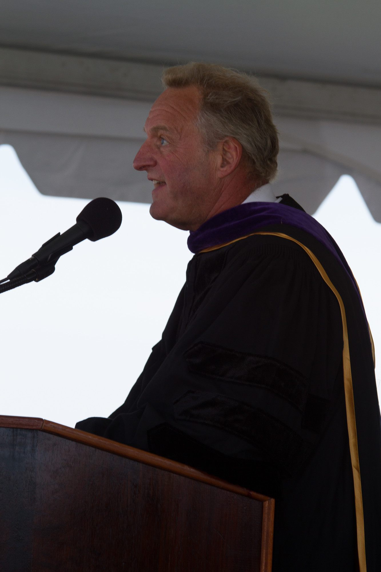 School Board President Roy Lester commended the class of 2013.