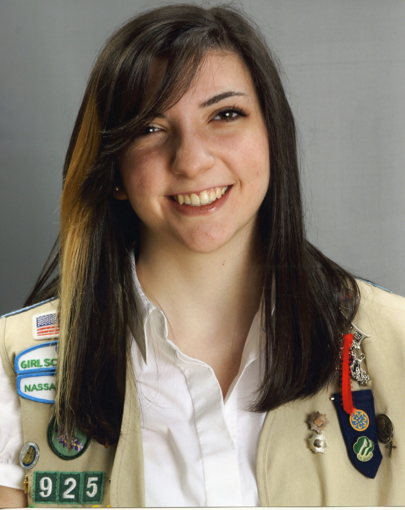 Deanna Parlagreco earned her Girl Scout Gold Award.