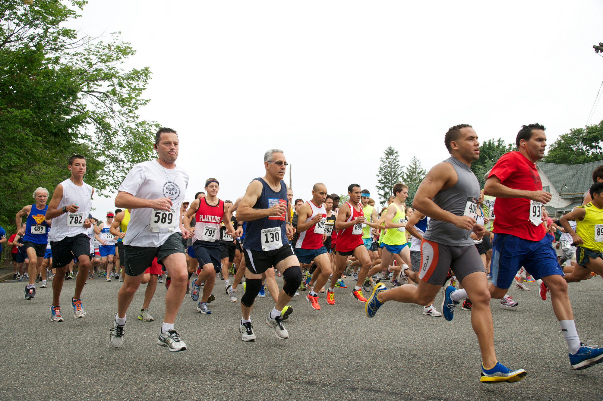 More than 700 people participated in the Bellmore Striders' annual Independence Day Run on the Fourth of July.