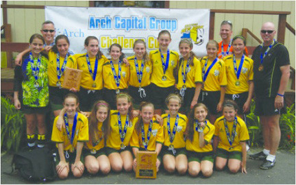 Lynbrook/East Rockaway Girls Soccer Team Captured the Under-12 Title when the girls beat West Islip 3-1 in the finals on June 8.
