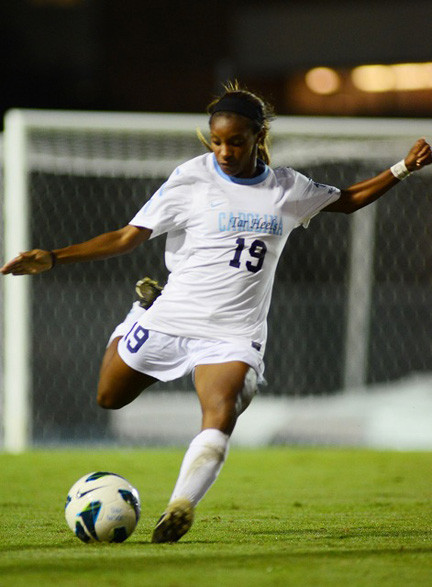 Dunn has already won numerous awards throughout her high school career in Rockville Centre and while playing for the Tar Heels 