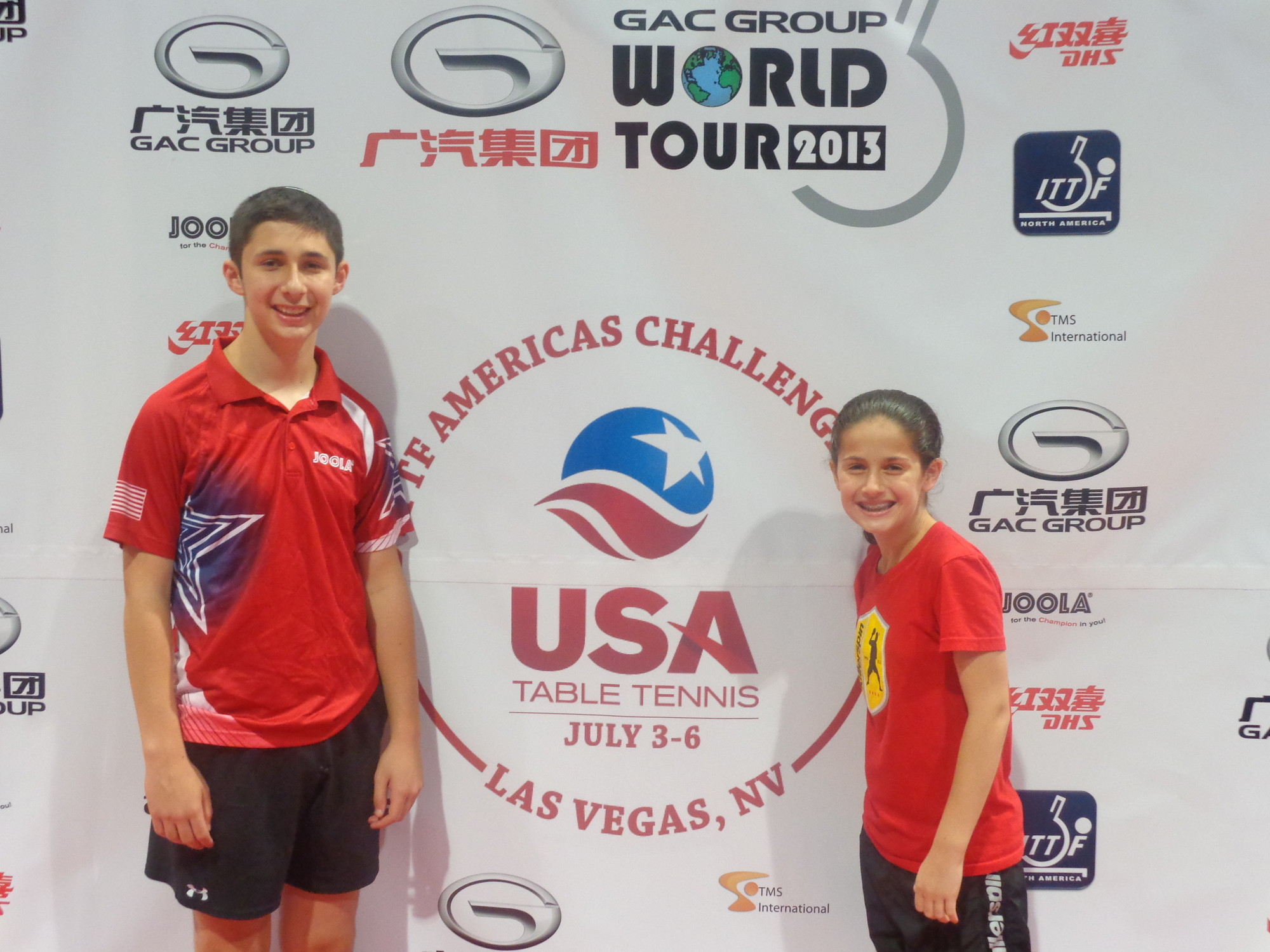 The Ackermans recently competed in America�s Cup Challenge at the Las Vegas convention center, in which Estee finished with a record of 5-11.
