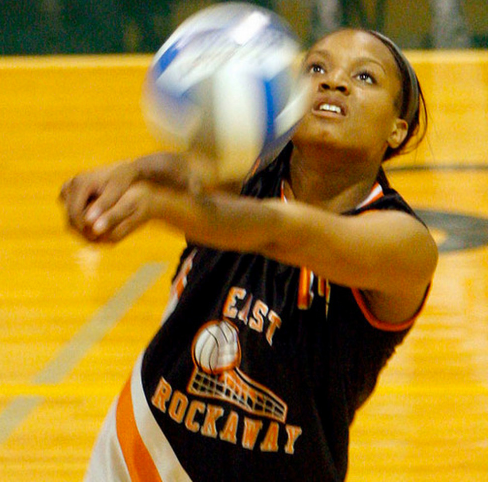 Jalisa barnes was a star volleyball player, high  honor roll student and clarinet player at ERHS.