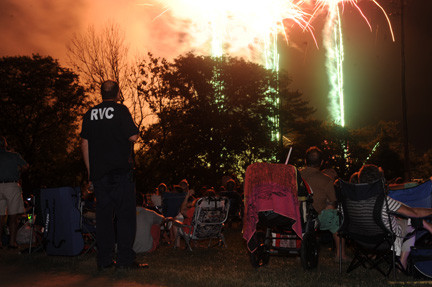 Rockville Centre celebrated its heritage last weekend with the village's annual fireworks display. Residents from nearby towns came to watch the show.