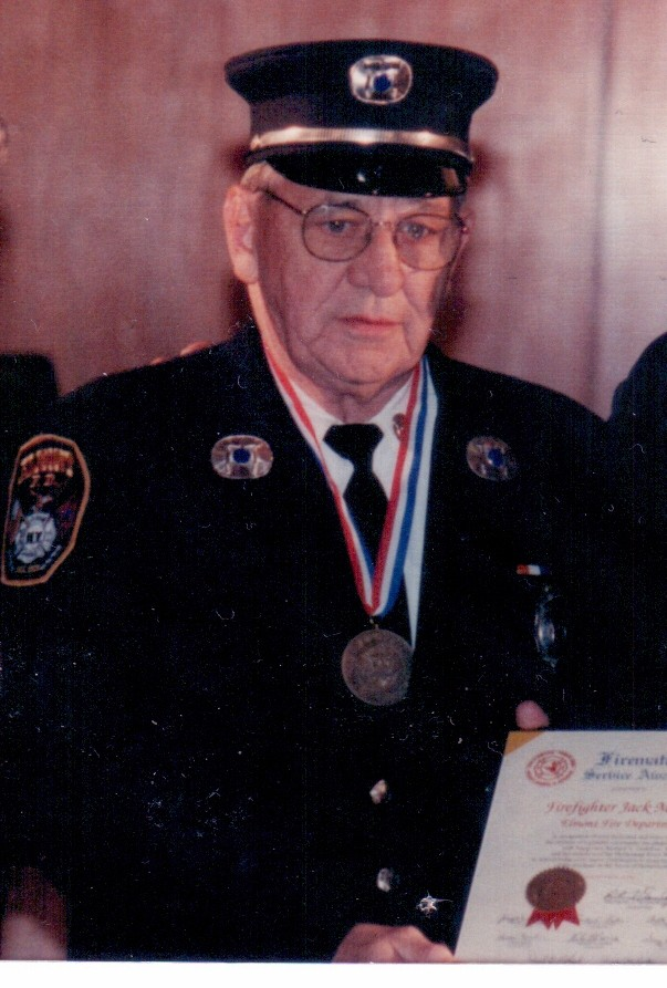 "John ""Jack"" Mildner, who touched the lives of many as a veteran of the Elmont Fire Department for 63 years, died on June 17."