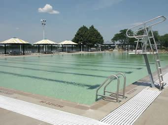 Pools at county parks such as North Woodmere will be open until 8 p.m. through July 21.