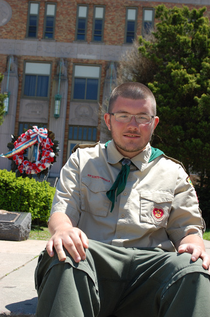 Shaun Powers recently became an Eagle Scout and is planning a Court of Honor ceremony for September.