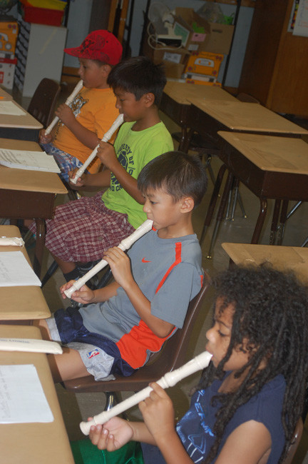 For the second year, District 13 is offering students a chance to hone their music skills with recorder lessons.