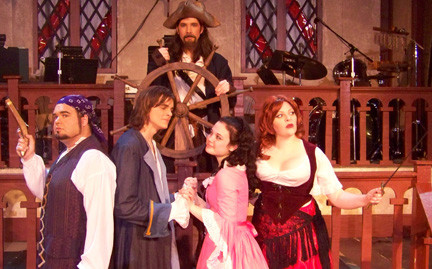 "Arr matey! Bring the kids to see the BroadHollow Theatre Company's production of ""A Pirates Tale"" at its stage in Elmont on Tuesday."