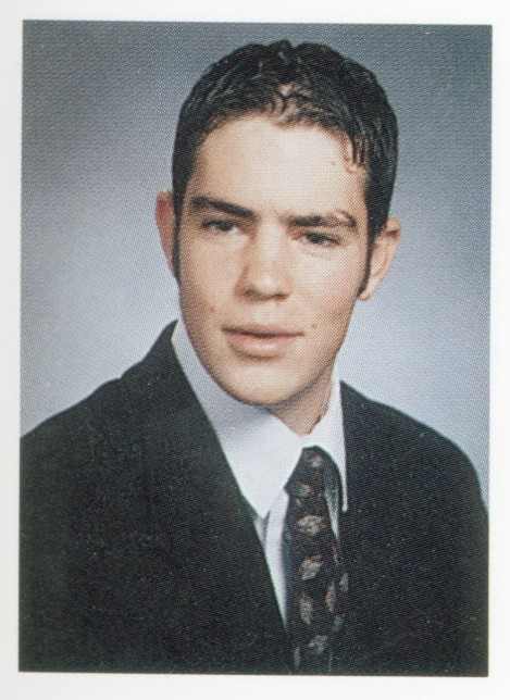 Kevin Brennan's Mepham High School yearbook photo from 2001.