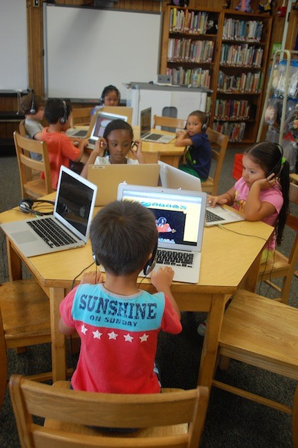 This year, a technology class has been added to the summer school program.