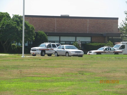 Police were at Levy-Lakeside Elementary School on July 28 to investigate a trespassing case at the building. No property was damaged, and police are working to identify the trespassers, according to Dr. Dominick Palma, the Merrick School District superintendent.