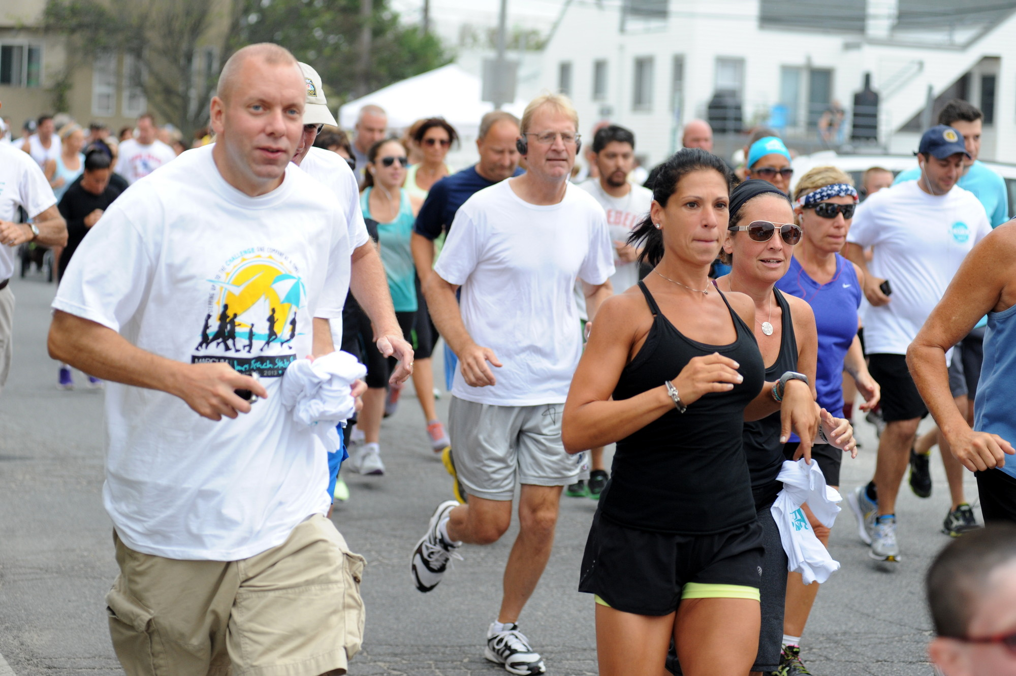 Hundreds participated in last Saturday's 5K in Elovich's memory.