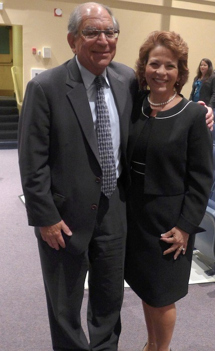 Dr. Phyllis Harrington, the newly appointed superintendent of the Oceanside schools.