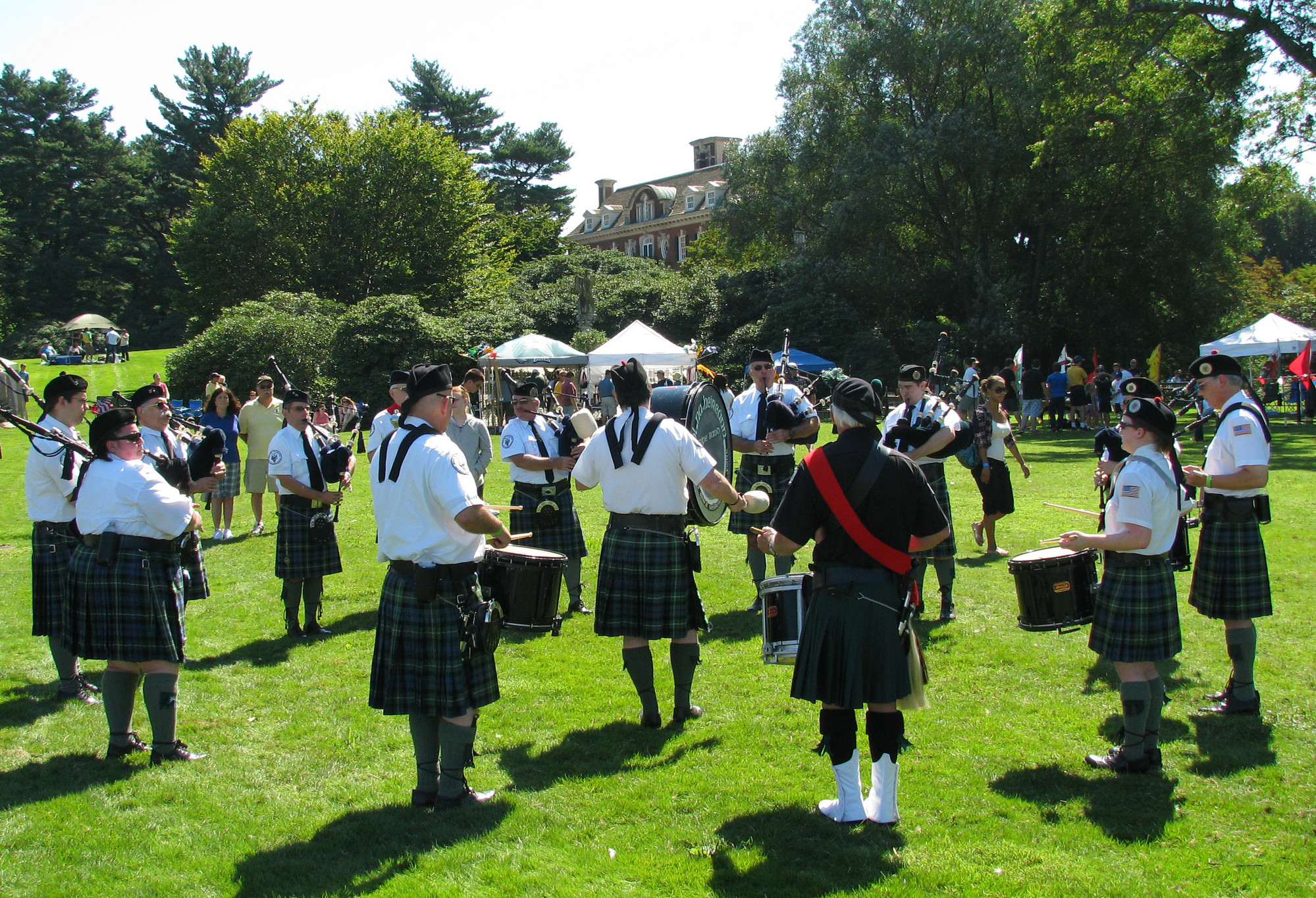 Old Westbury Gardens once again opens its expansive grounds to the Scottish Games and Highland Gala on Saturday, Aug. 24.