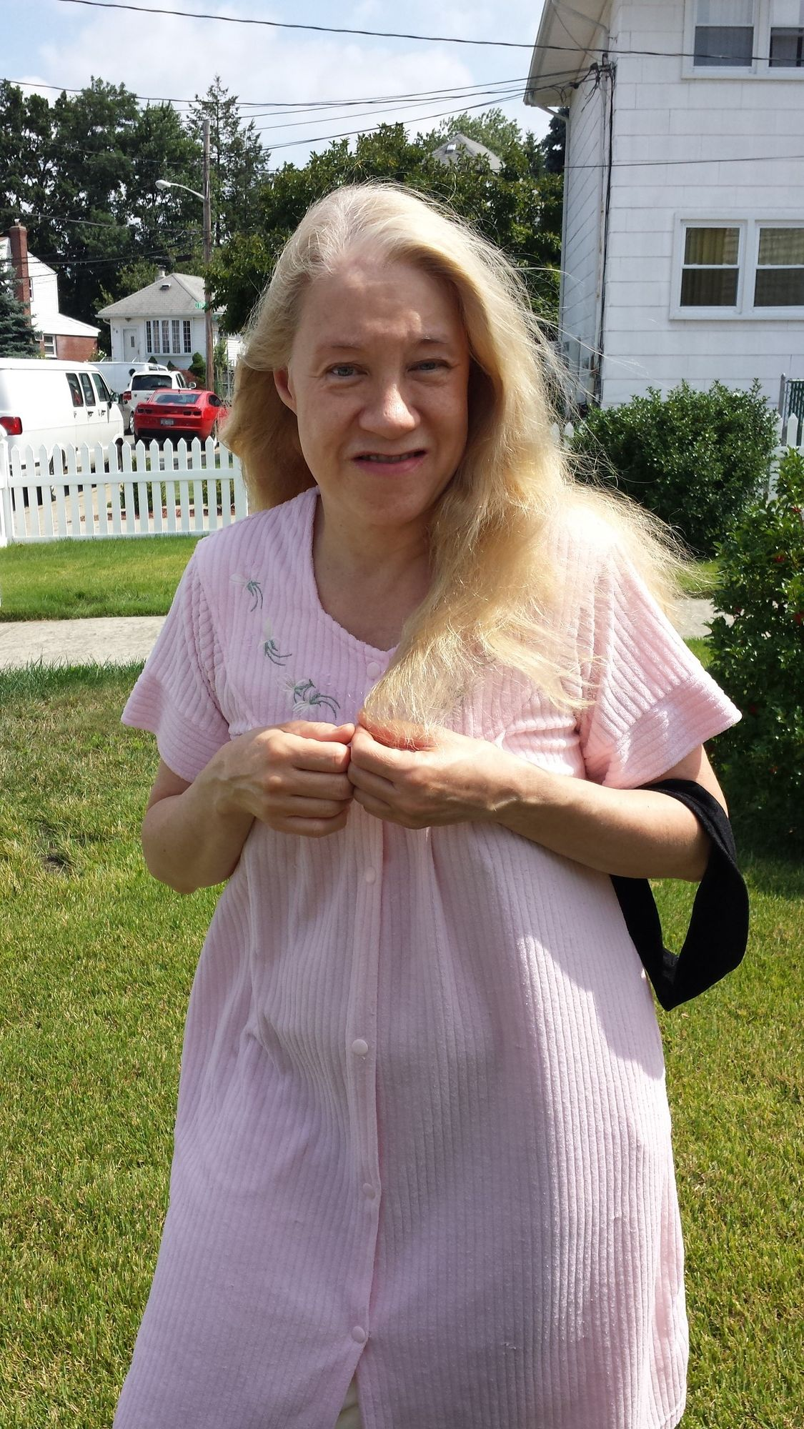 Elmont resident Judith A. Senning thought the loud noises resonating around her neighborhood in the early hours of the morning were either a terrorist attack or a drunken driver.