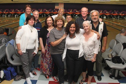 Hundreds came out for a night of bowling and charity in East Meadow to support the Marty Lyons foundation, which fulfills the wishes of children who have been diagnosed with a terminal or life threatening illness.