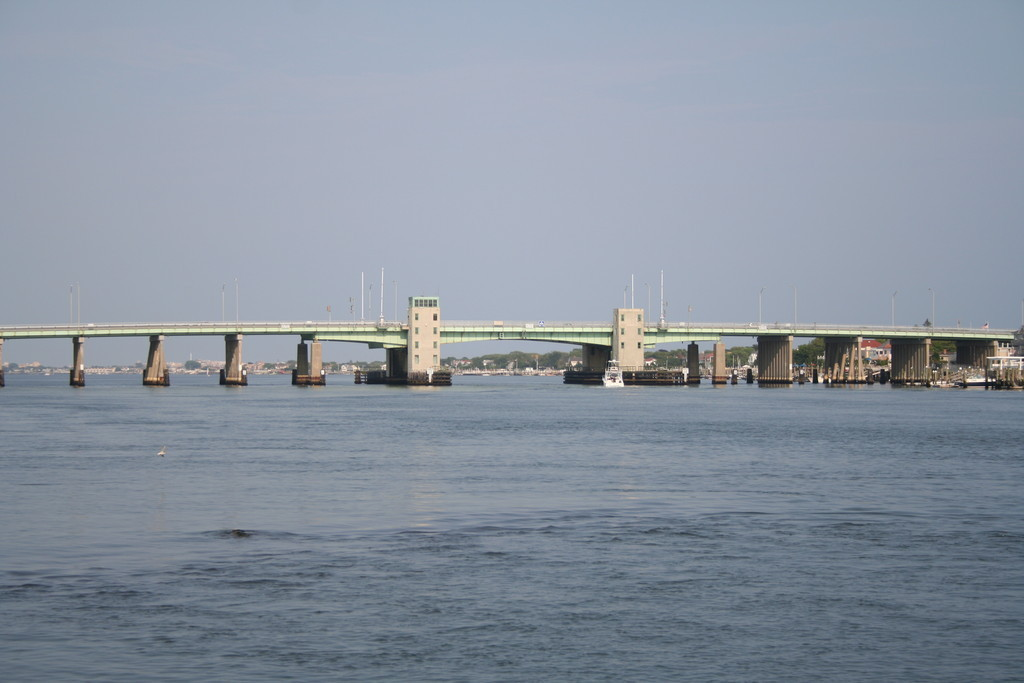The Atlantic Beach Bridge will be closed for four nights in September and two nights in October for repairs.