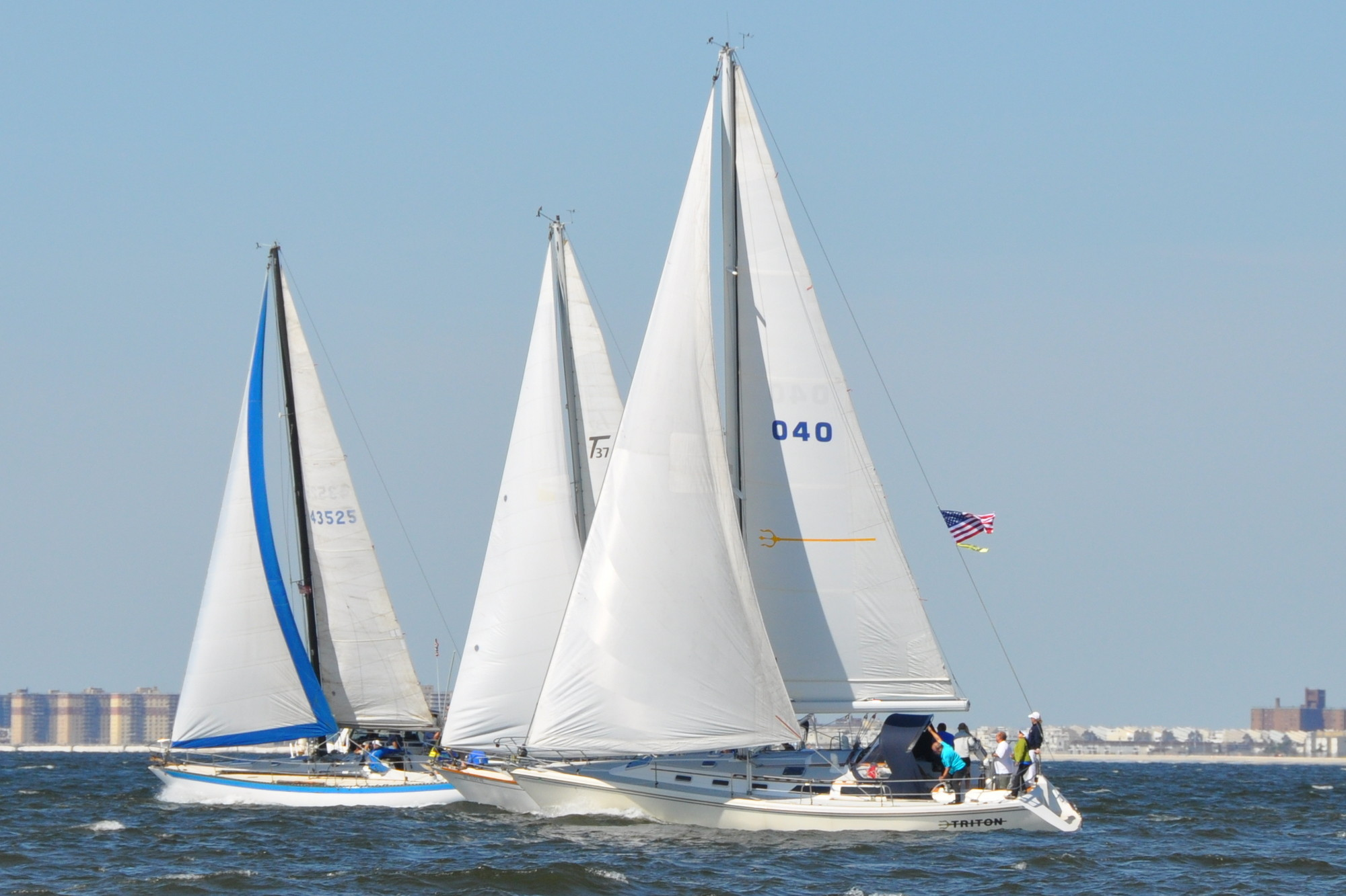 Woodmere Bay Yacht Club members took part in the annual Spirit Rider Regatta on Sept. 7. Proceeds support the O'Keefe Foundation 9/11 scholarship.