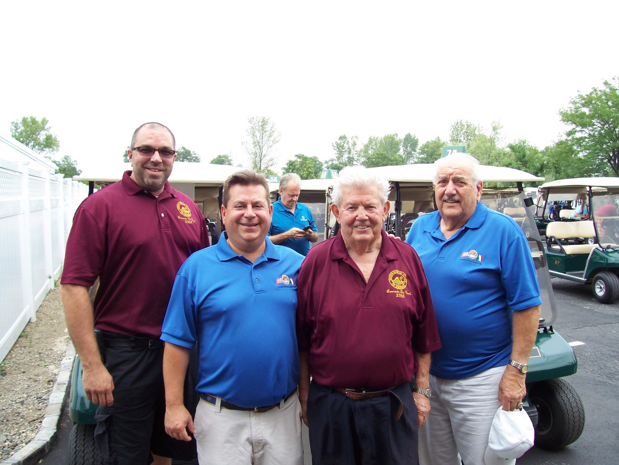 Inwood Country Club played host to the annual Leonardo da Vinci Lodge 2385 Sons of Italy golf outing. From left were golf committee members Andrew Reilly Jr., Chairman Ken Piteo, John Super and Pete Capozzi.
