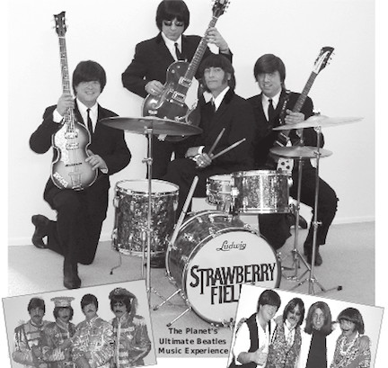 "A Beatles tribute band, ""Strawberry Fields,"" will perform at OHS on Oct. 26."