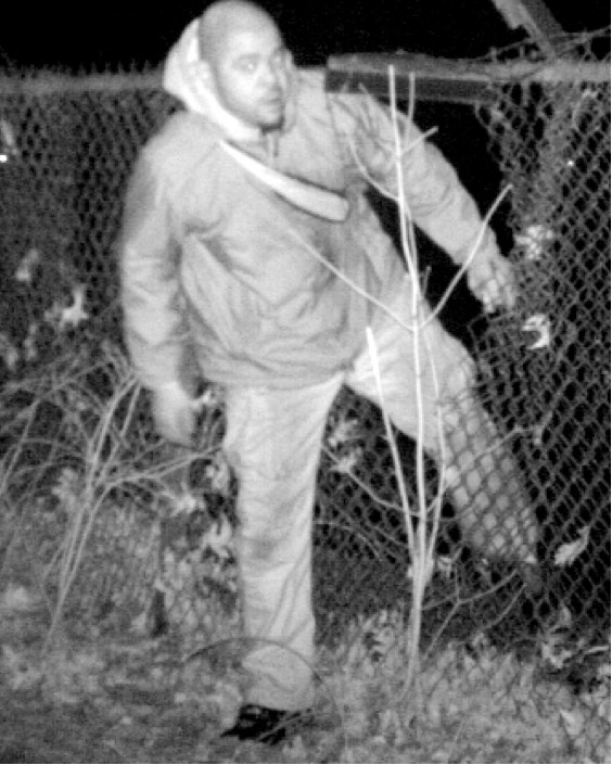 Police have released this photo from a surveillance video of the man they are searching for.