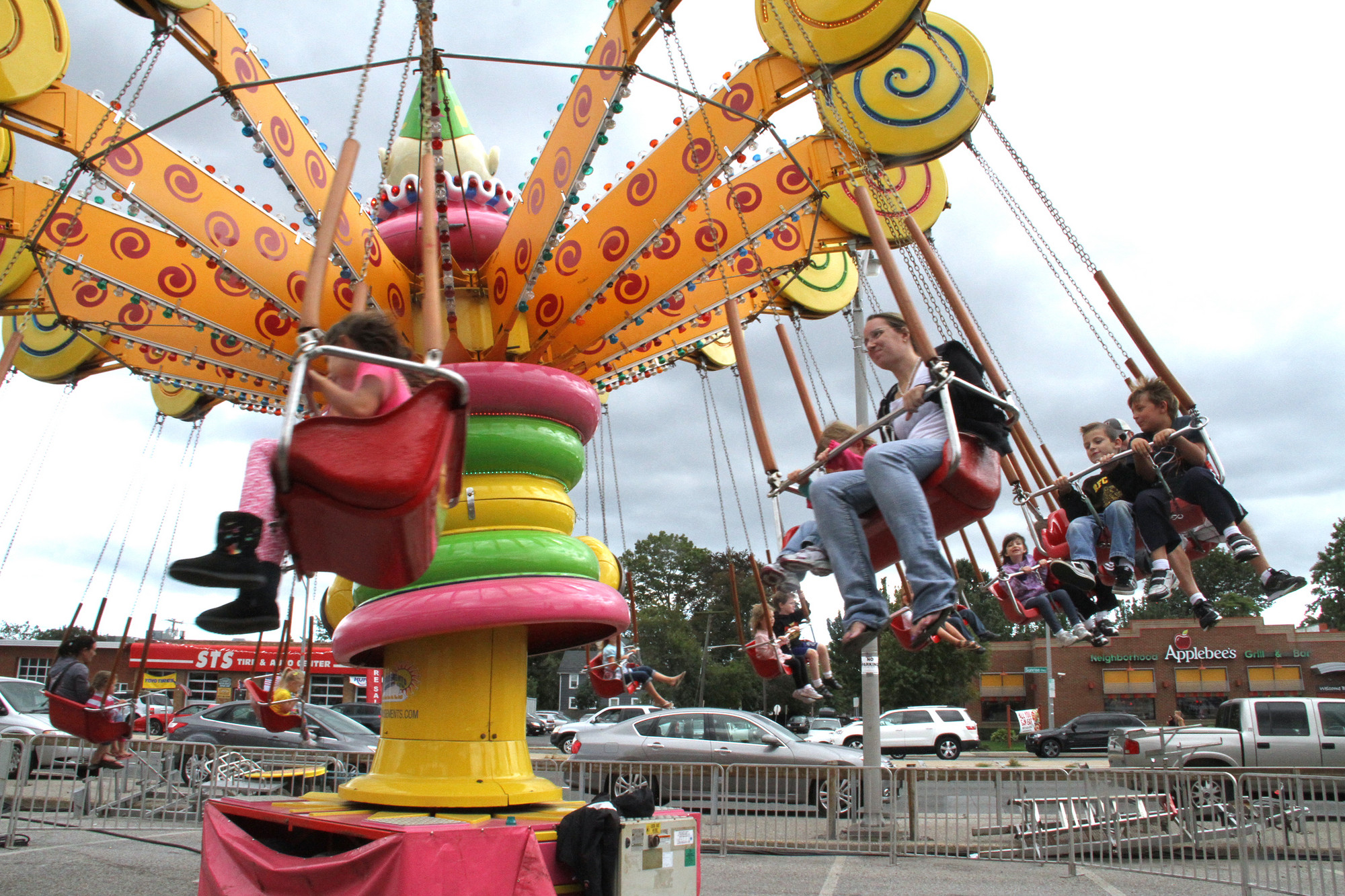 Fair-goers always find thrills at the carnival, a major attraction at the annual Bellmore Family Street Festival, which opens Sept. 19.