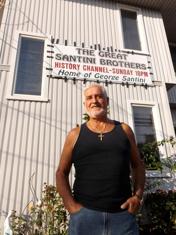 George Taliercio, of East Rockaway, owns and operates Santini Brothers Moving and Storage with his brother, Joe.