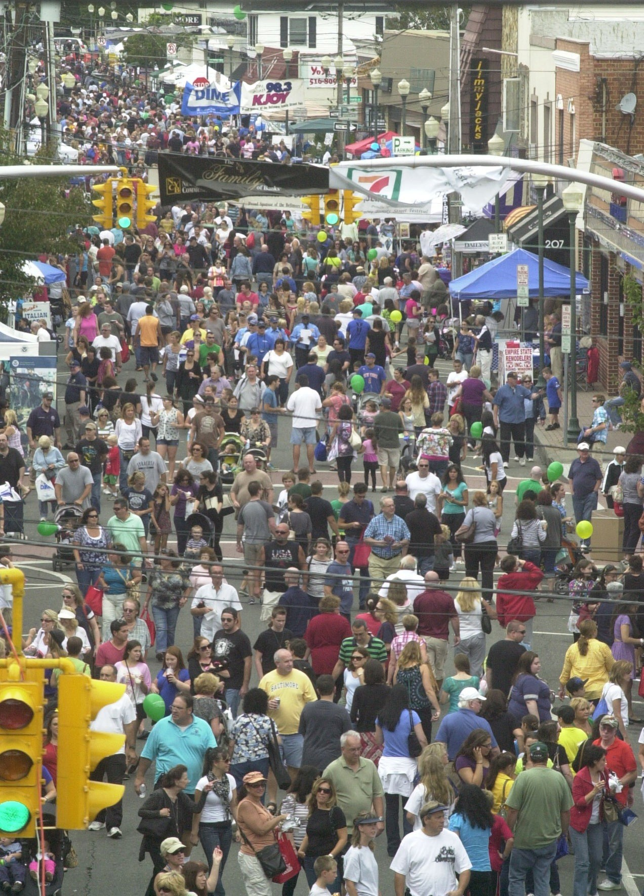 The 2012 Bellmore Family Street Festival attracted more than 100,000 fair-goers.
