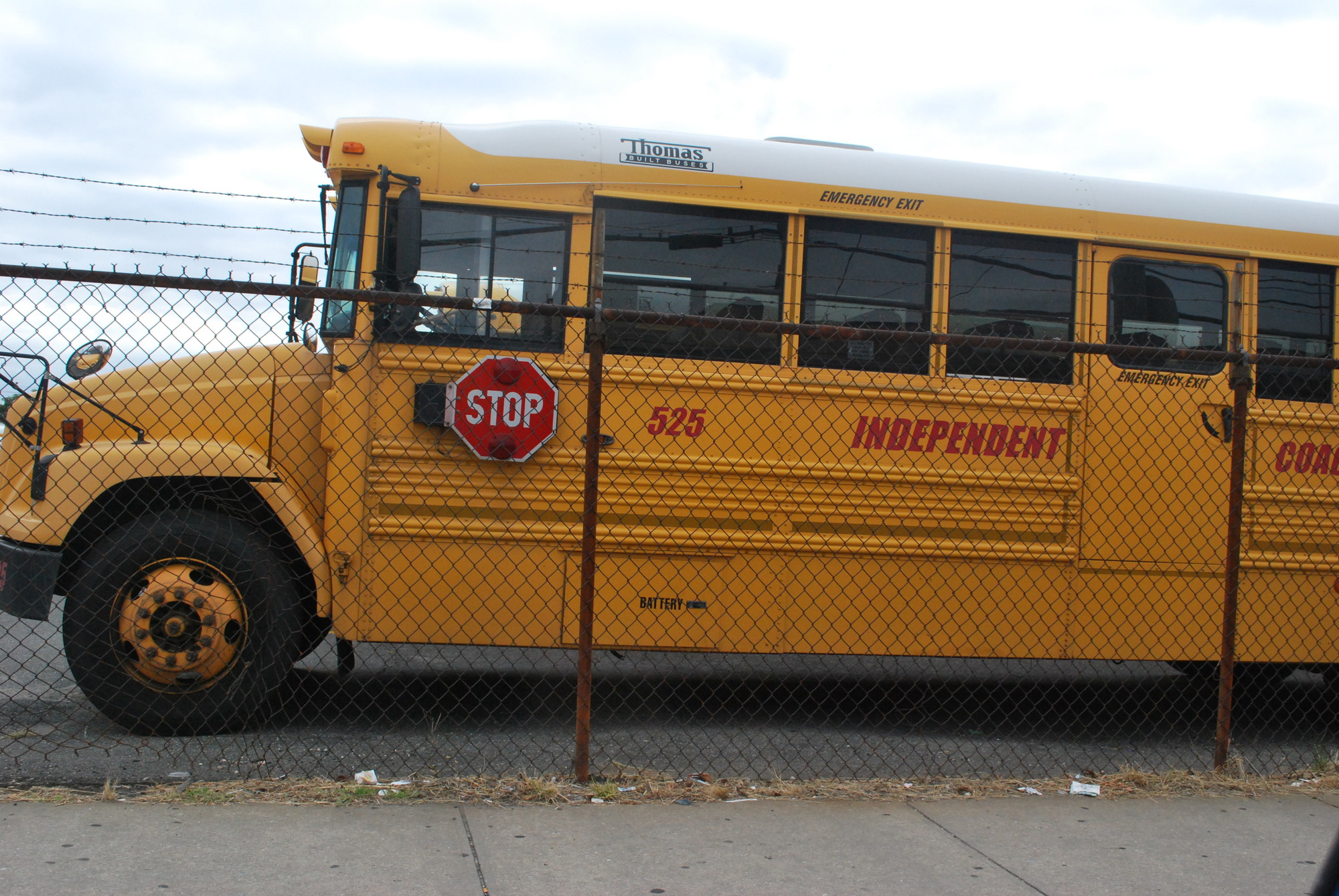 Yeshiva students who live in the Lawrence school district attend schools across Long Island including Brooklyn and Queens. Depending on the bus route, their trip could take up to 90 or more minutes or longer.