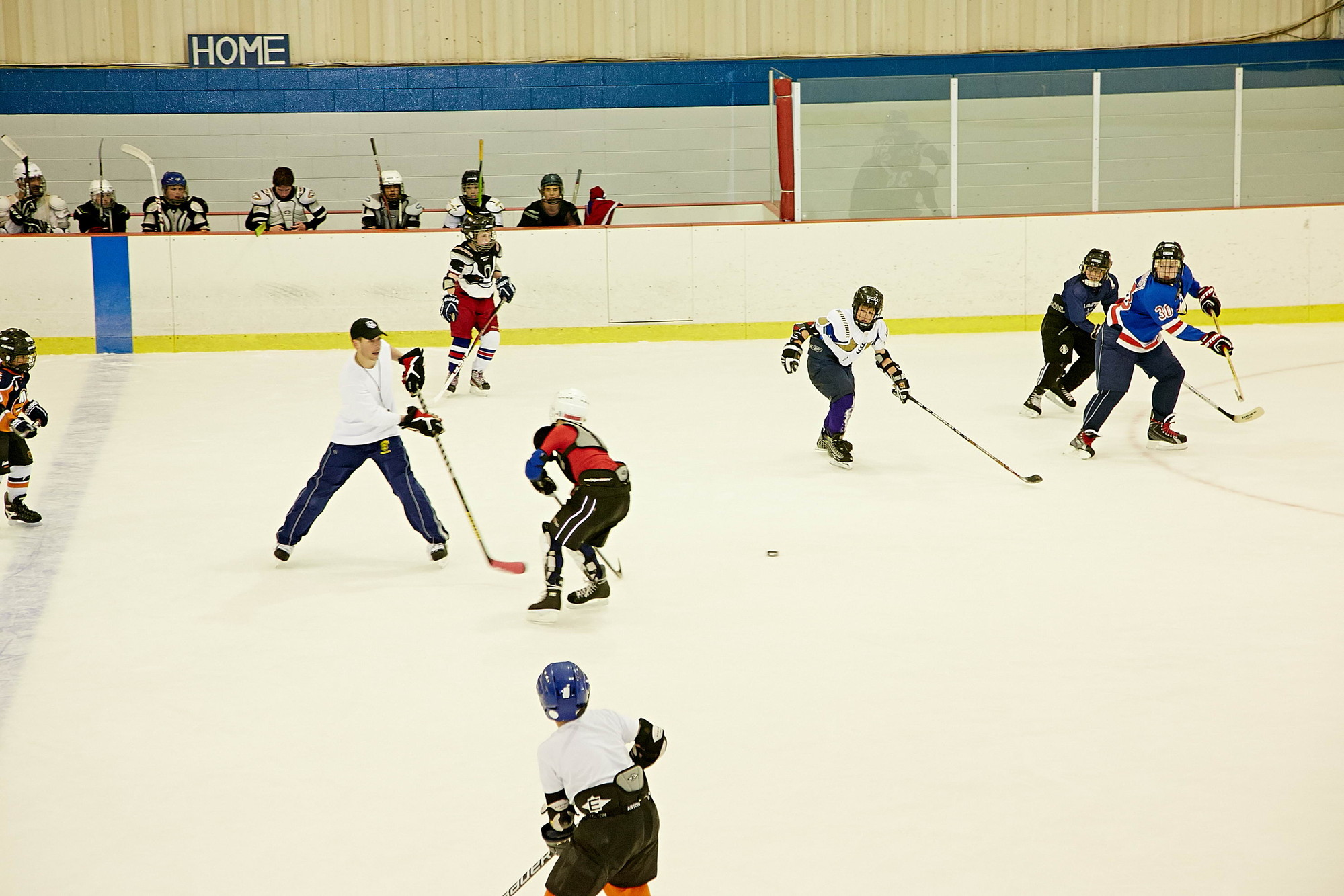 The Hebrew Hockey League provides instruction and competition to a range of players who are schooled in technique on the ice and respect for their opponents.