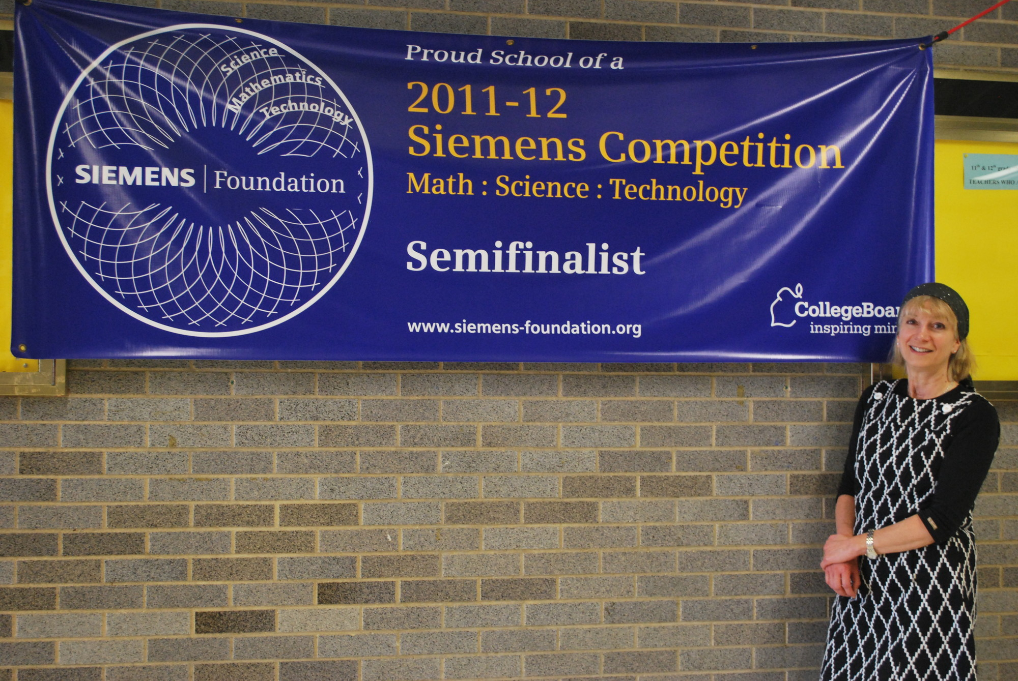 Lawrence High School chemistry teacher Rebecca Isseroff guides Five Towns students through high level science projects to compete in prestigious competitions such as Siemens.