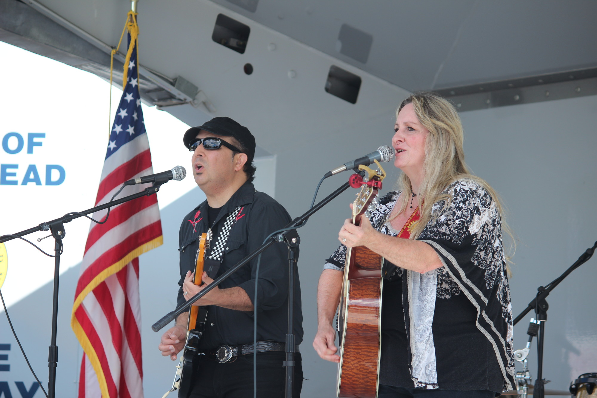 Arts Below Sunrise festival featured many attractions, including several musical acts such as Chris James and Annie Marks.