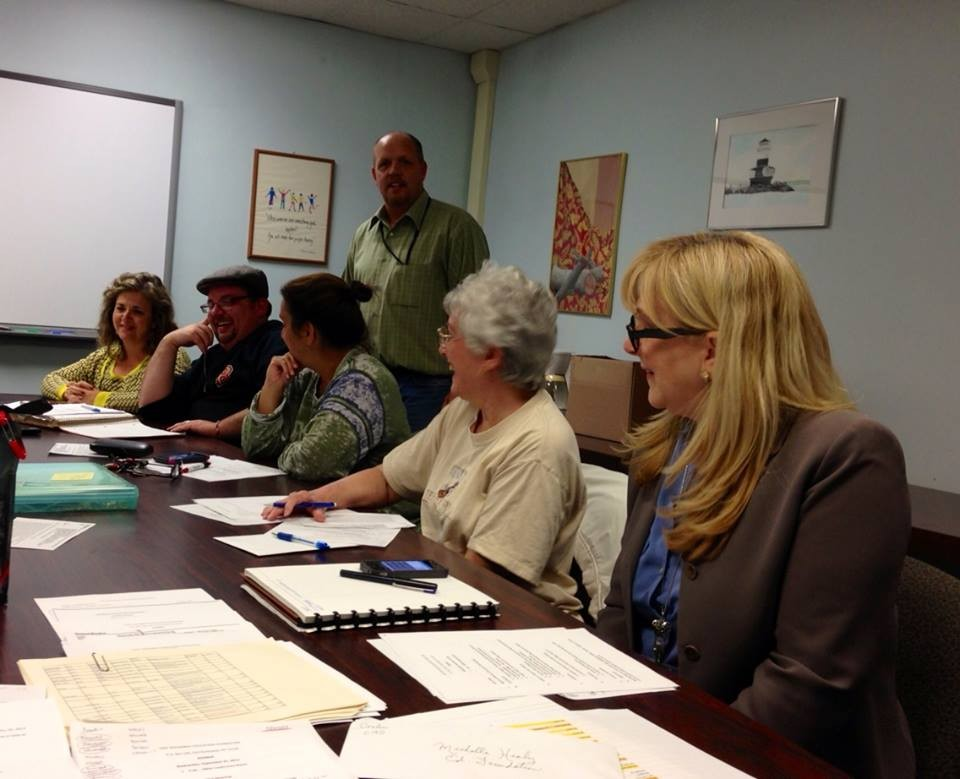 ThE East Rockaway Education Foundation held its first meeting of the year on Sept. 25 in the high school and presented its slate of officers for 2013-14.