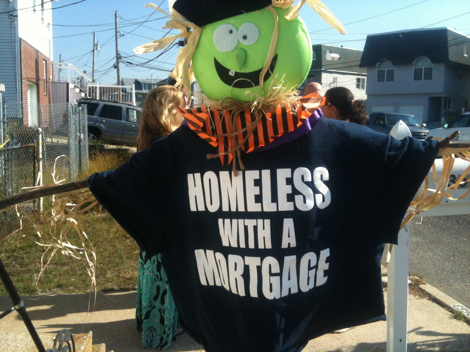 SLEEPLESS IN SEAFORD: Homes remain vacant almost a year after Sandy hit our shores.