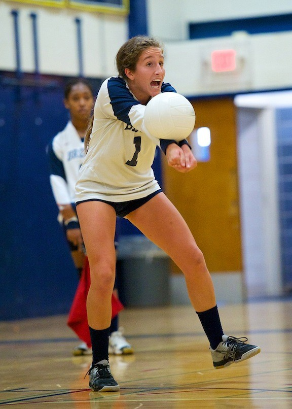 Baldwin's Bridgette Walsh had 10 kills and 20 digs to help lead a victory over Plainview-JFK.