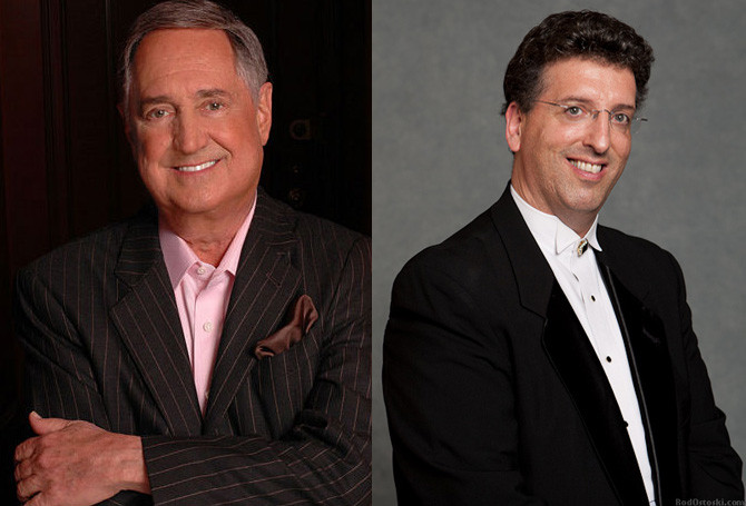 "Music icon Neil Sedaka will show a new side of his composing skills when the South Shore Symphony performs his ""Manhattan Intermezzo"" at the Madison Theatre on Oct. 27. Jeffrey Biegel, right, will play the piece on the piano. Sedaka is expeceted to attend the performance with his wife, Leba."