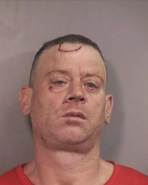 Homeless man James Howley is accused of stabbing a man after he, the man, gave him a dollar.