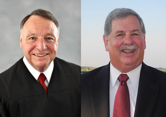 Incumbent City Court Judge Roy Tepper, left, and challenger Ted Hommel.