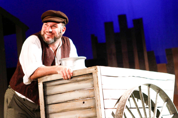 "The beloved Tevye shares his story in Broadhollow's staging of ""Fiddler on the Roof"" in Elmont."