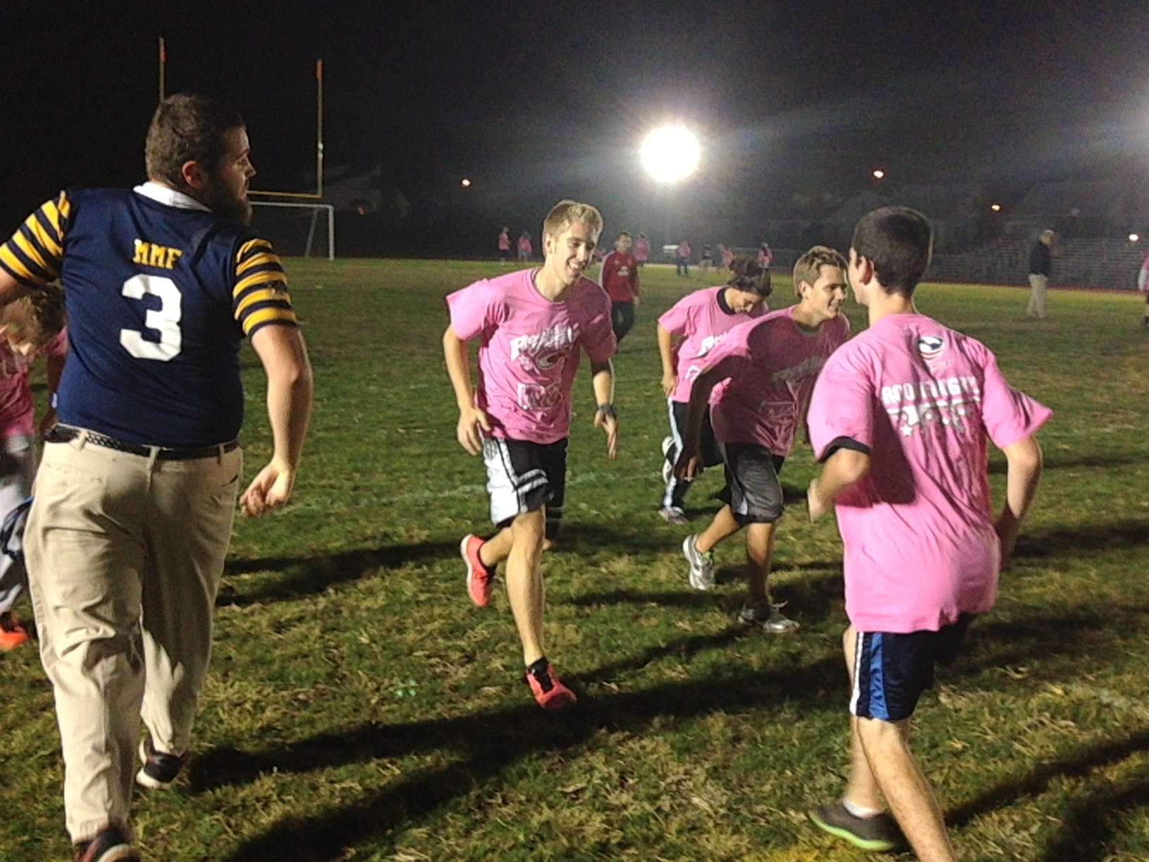 In cooperation with the Hofstra University Men's Rugby Club, USA Rugby and AIG, the Bellmore-Merrick Central HigH School District sponsored a clinic and rugby tournament for 75 district student-athletes on Oct. 17.