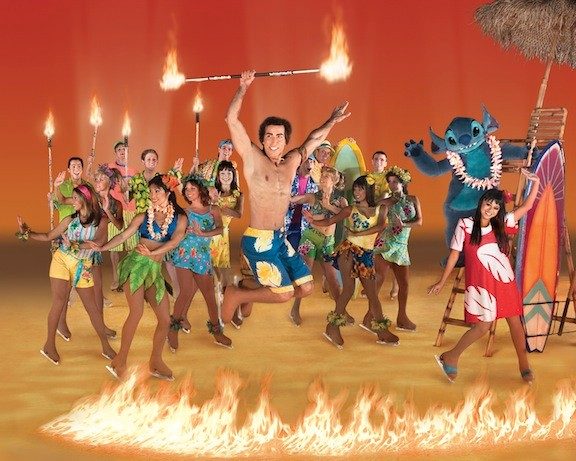 Join in the fun with Lilo, Stitch, Nani and David at a Hawaiian Luau when the Disney on Ice spectacle visits Nassau Coliseum, beginning Nov. 5.