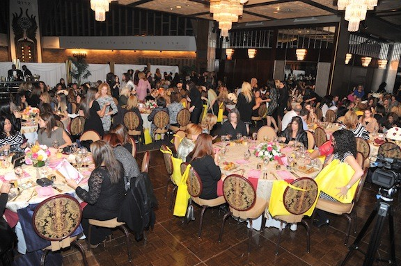 More than 400 women participated in the fundraiser.