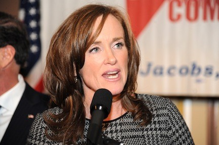 Democrat Kathleen Rice was re-elected District Attorney.
