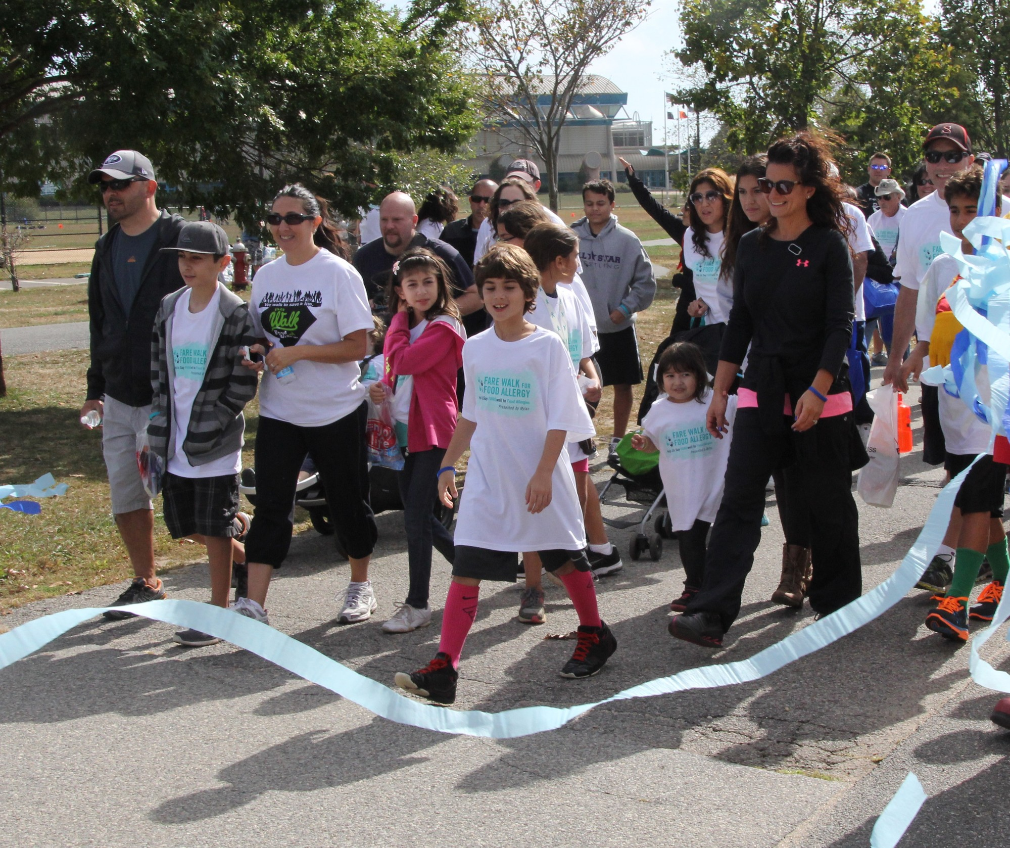 Food Allergy Research & Education raises money to fund research projects and other programs. It raised $143,000 at its annual walk in Eisenhower Park last month.