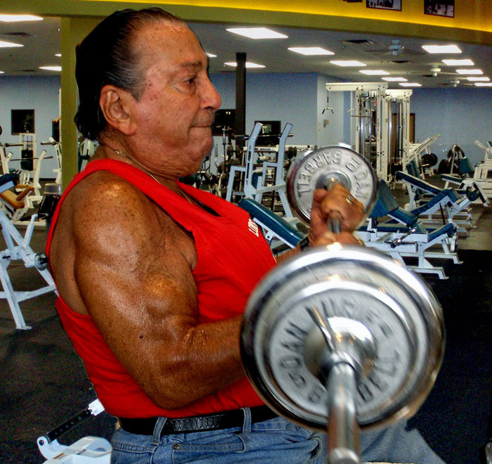 North Woodmere resident Dan Lurie was a strong proponent of exercise. at 85, he worked out at a local gym.