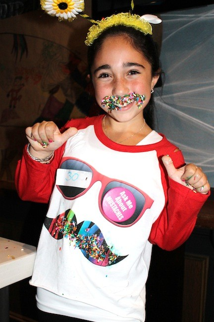 'Stache Bash contestant Molly Eisenberg.